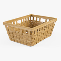 Wicker Basket Ikea Knarra 1(Natural Color)