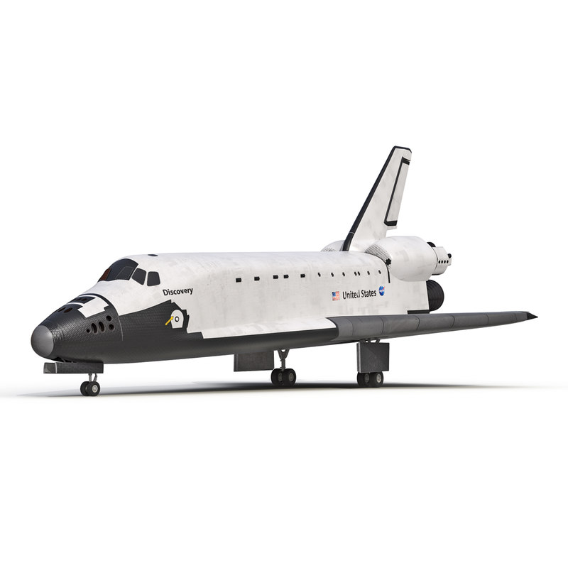 3d model of space shuttle discovery