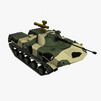 bmd-2 airborne vehicle 3d max