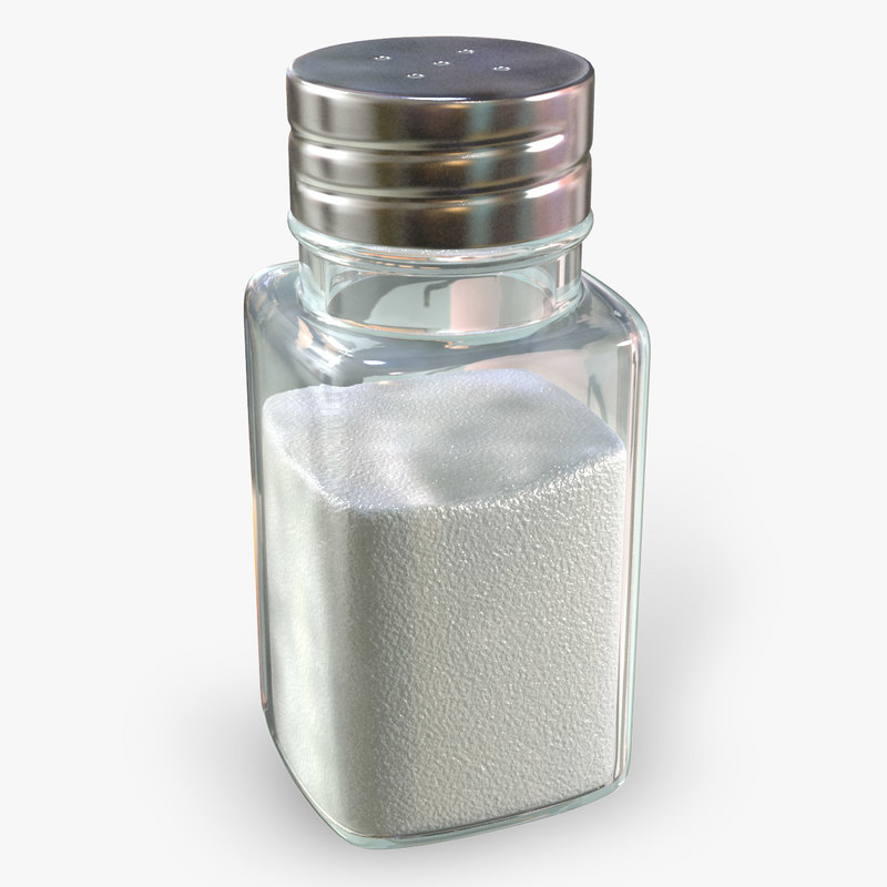 salt shaker 3d max