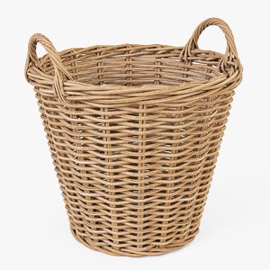3d wicker basket ikea nipprig
