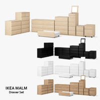 Ikea Malm Drawer Set