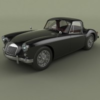 3d mg mga coupe