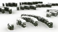 snow snowy bushwall max