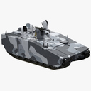 infantry fighting vehicle 3D models