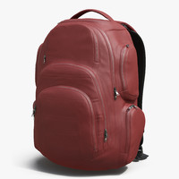 backpack 3 generic modeled c4d