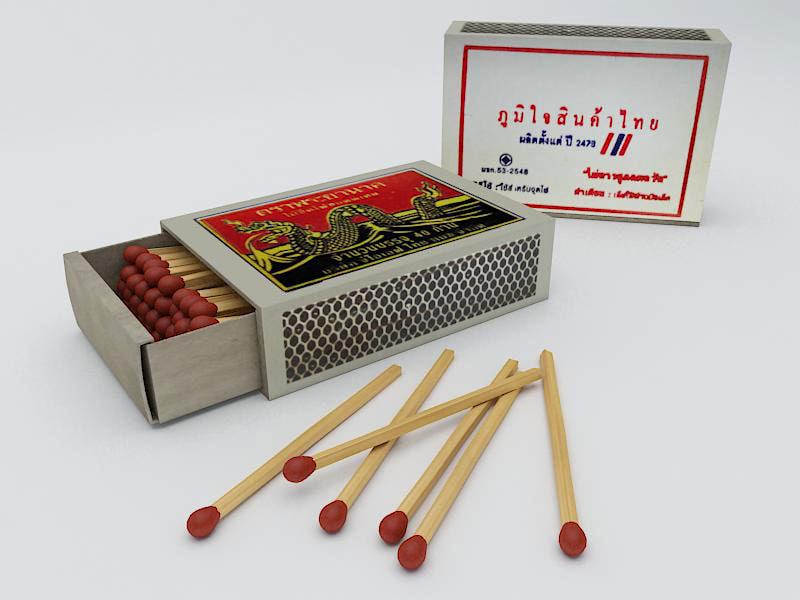 3d model thai match