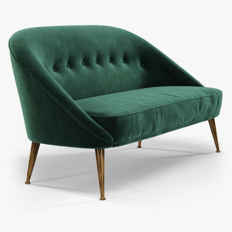 brabbu malay sofa interior 3d model