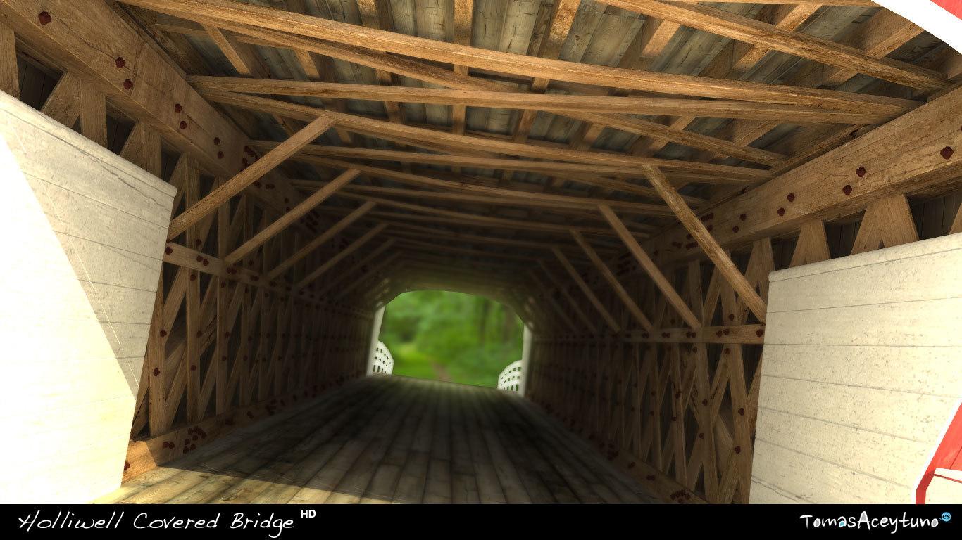 3d bridges madison county model