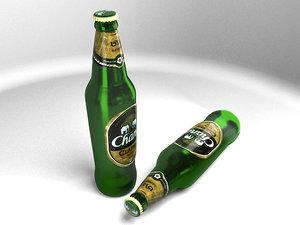 3d model beer chang classic