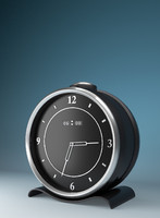 clock blender 3d 3ds