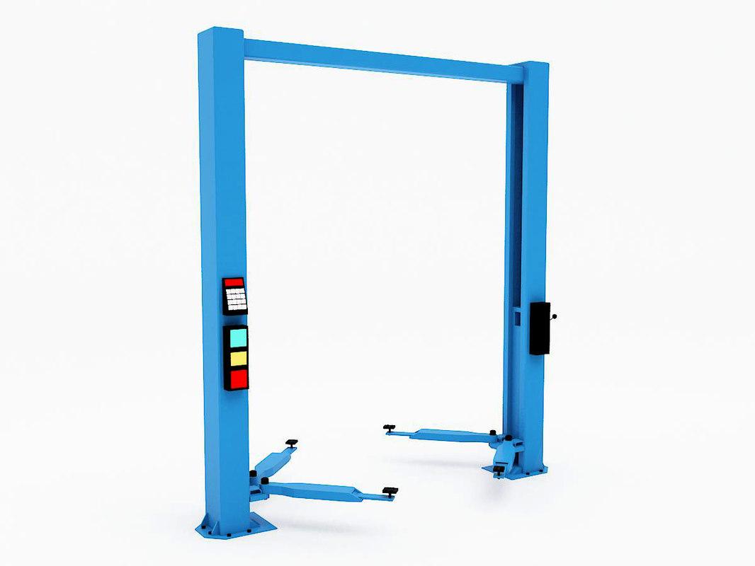3d model of lift jack