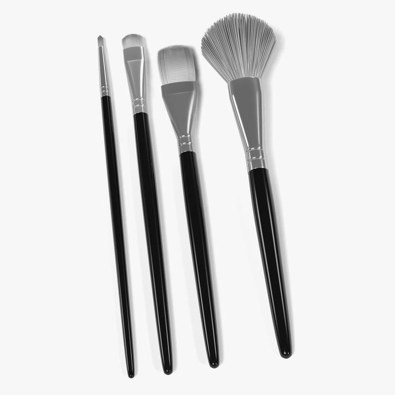 blender cosmetic brushes