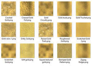 Seamless Tileable Gold Textures