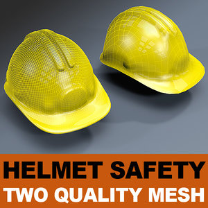 helmet safety mesh 3d model