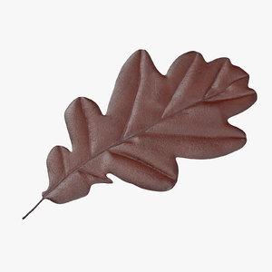 brown oak leaf max