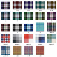 Tileable Cross Fabric Texture Collection