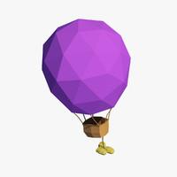 air balloon cartoon max