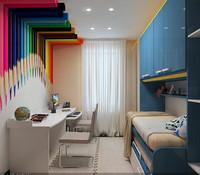 3ds max apartment living room