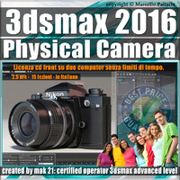 002 3ds max 2016  Physical Camera vol. 2 CD Front