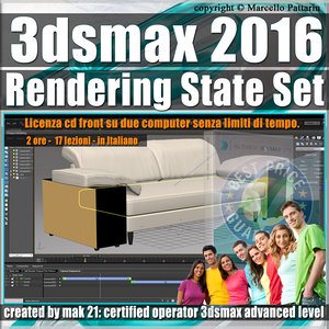 003 3ds max 2016 Rendering State Set vol. 3 CD Front