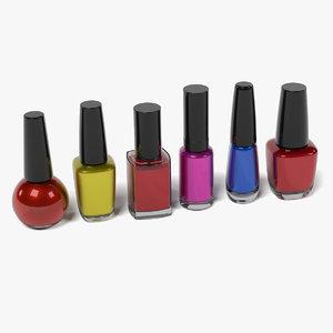 3dsmax nail polishes