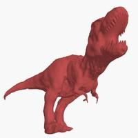 3d t-rex - base