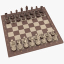 Chess Set 3D models