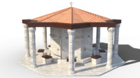 fountain shadirvan 3d max