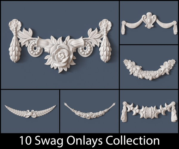 3d swag onlay model