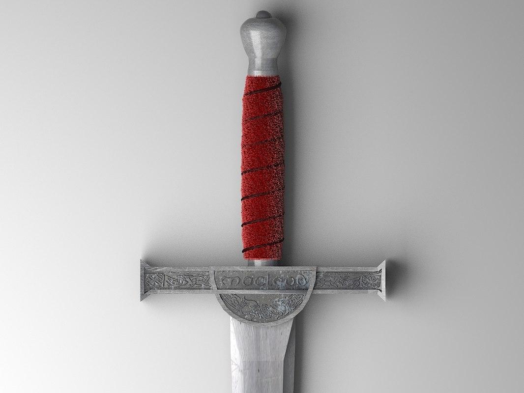 sword highlander 3d max