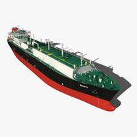 3dsmax lng carrier ship soyo