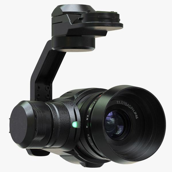 3d model camera zenmuse x5