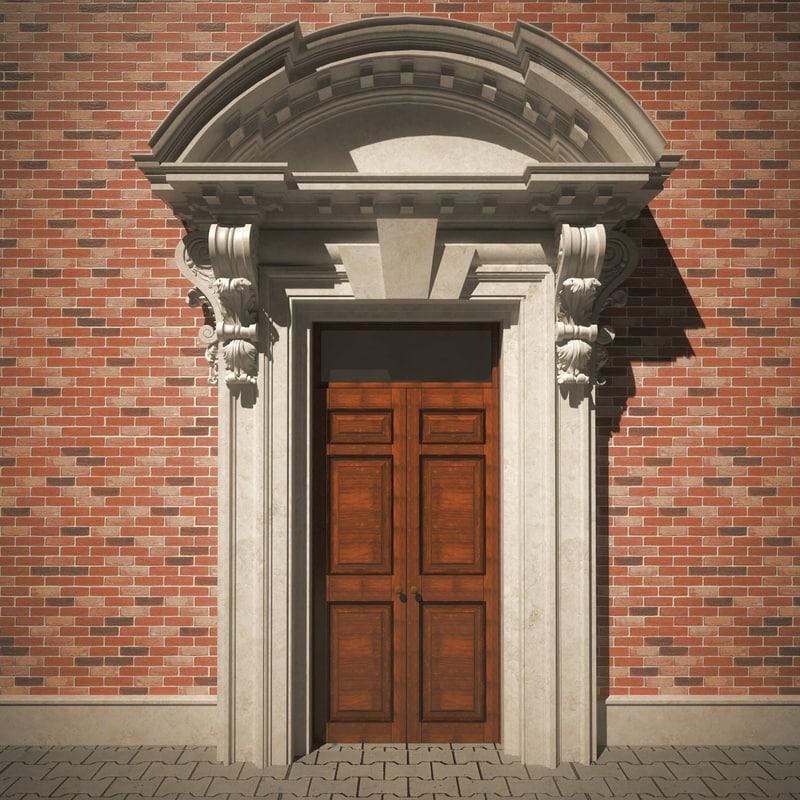 classic portal 3d c4d