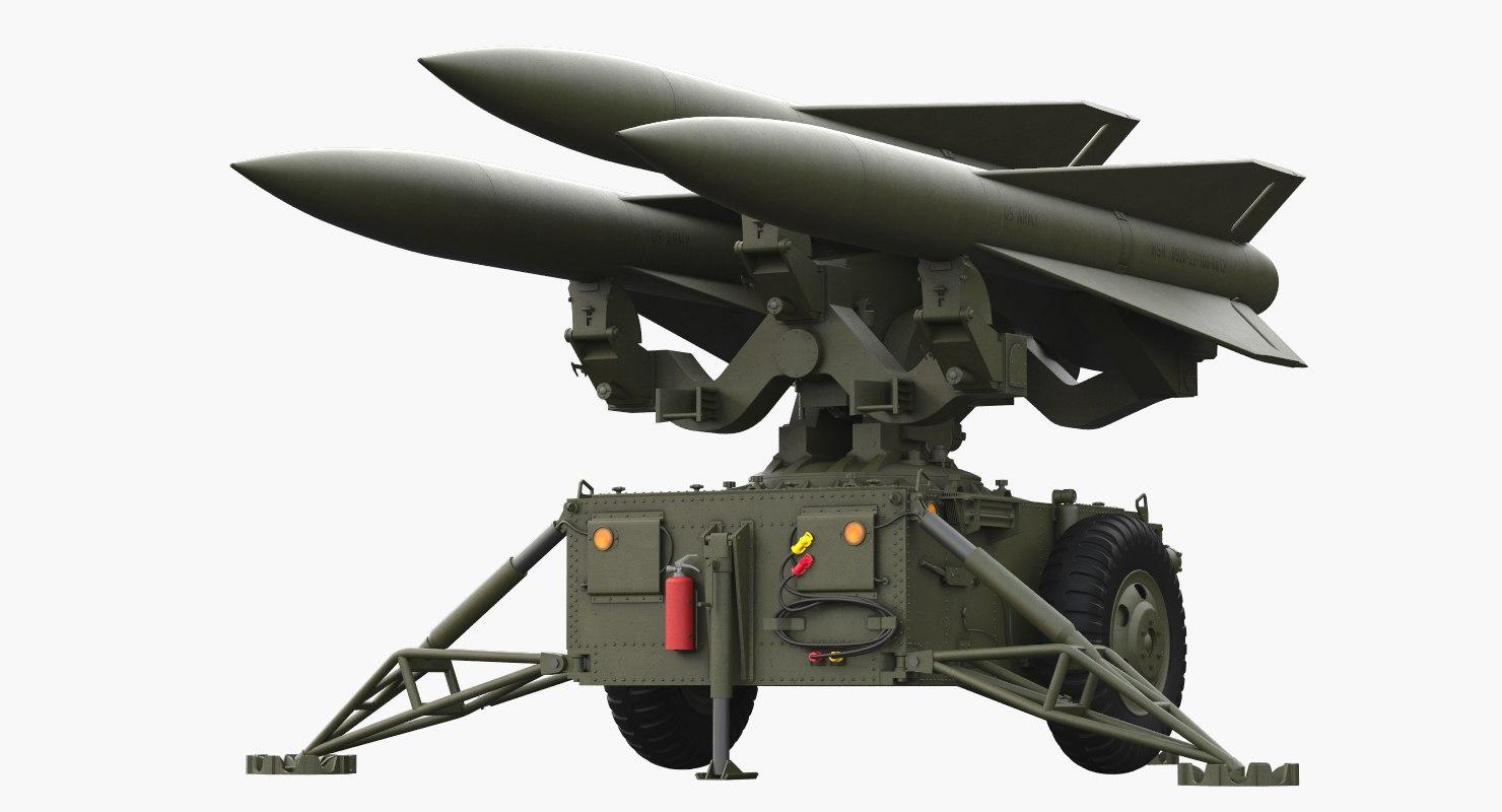 max hawk missile launcher