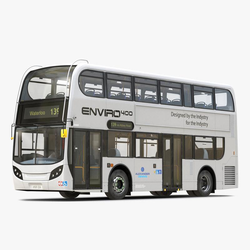 max alexander dennis bus enviro400