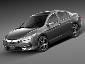 honda 2016 accord 3ds