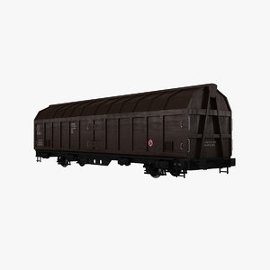 goods wagons 3d 3ds