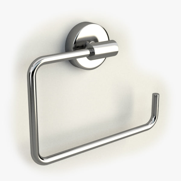 towel ring 3d model