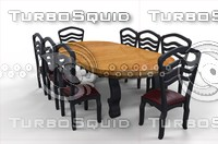 dining table fbx