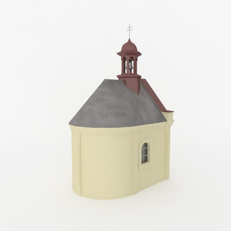 3d czech chapel
