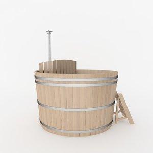 bathing barrel 3ds