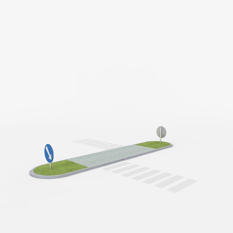road island 3d model