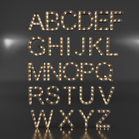Marquee Letter Lights Alphabet