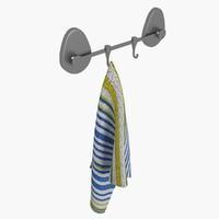 hanging towel 3d max