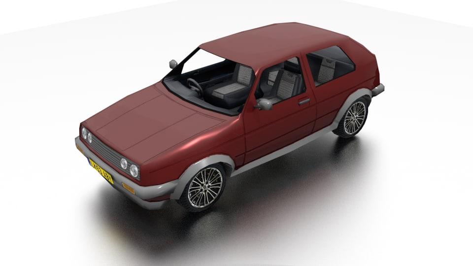 car background games 3d model