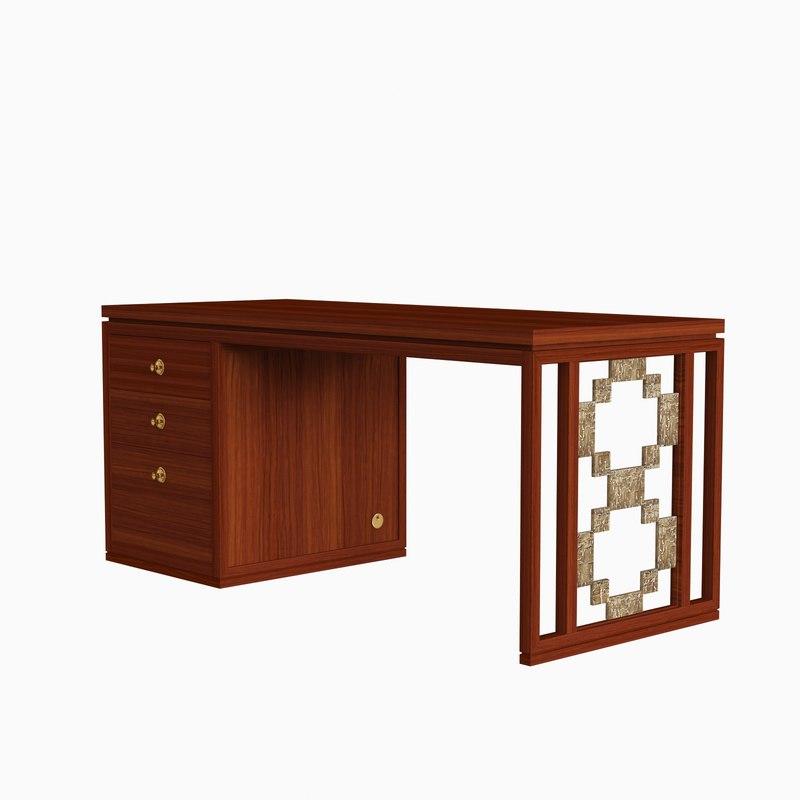 3d model carta desk laura kirar