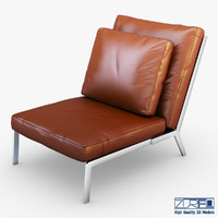 victory brown leather 3d max