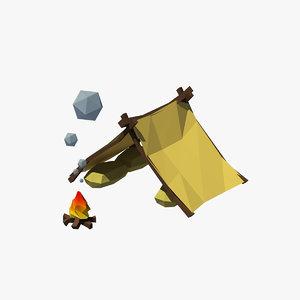 tent cartoon max