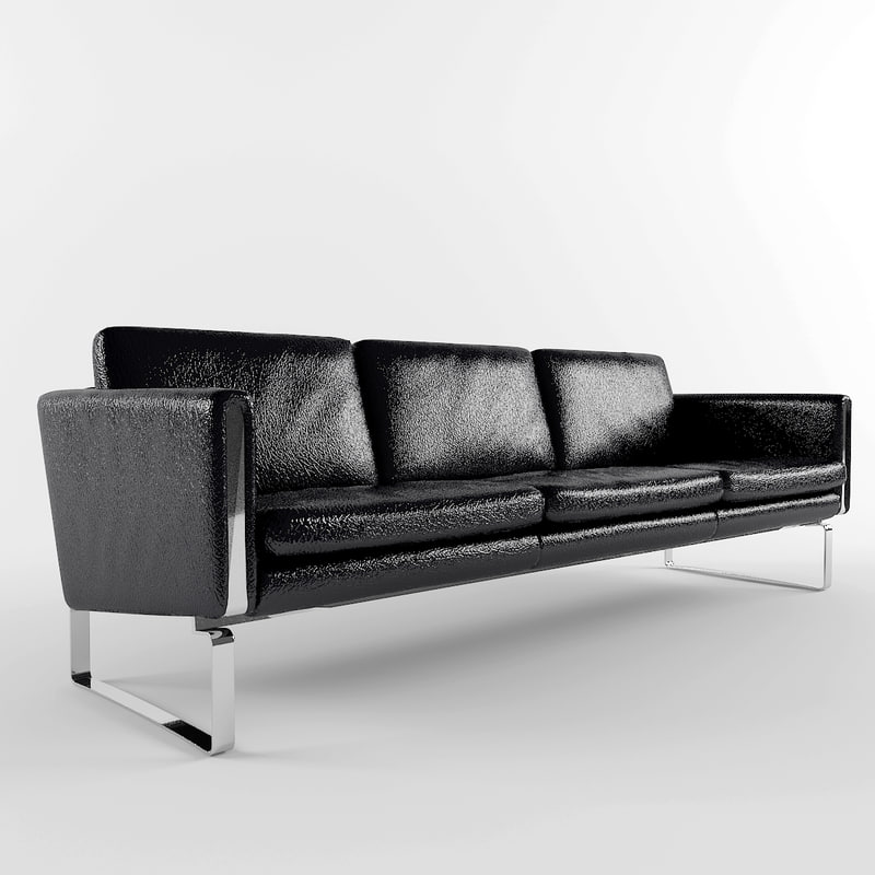 leather sofa 3d max